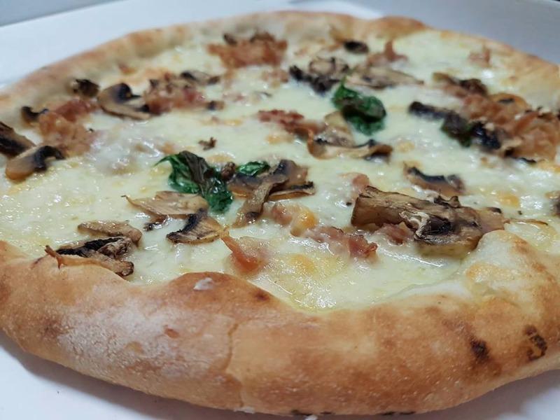 Bianca cotto e funghi gluten free
