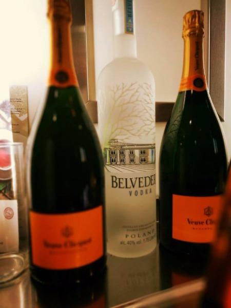 Moet Chandon e Belvedere
