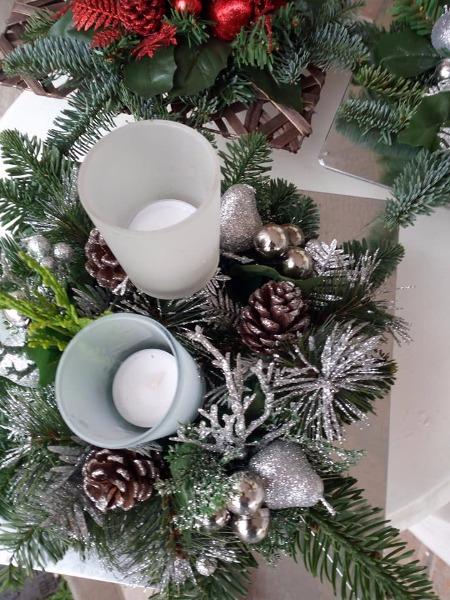 Tanti addobbi per il Natale