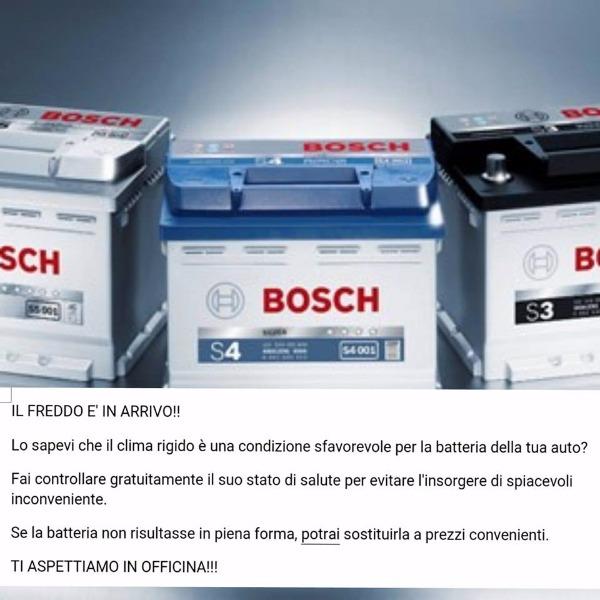 Fai controllare gratuitamente il suo stato della batteria della tua auto