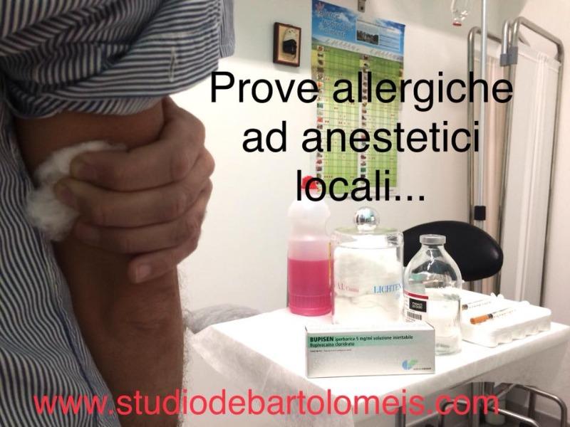 Hai avuto reazioni avverse ad anestetici locali? Non sempre si tratta di allergia, ed è possibile accertarlo.