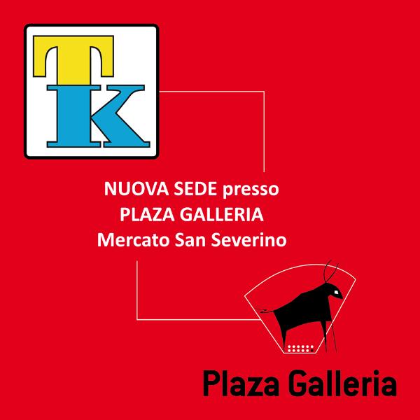 Nuova sede presso la Galleria Plaza