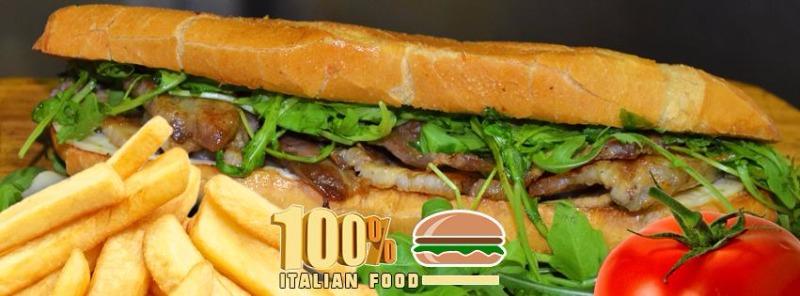 100% Italian Food