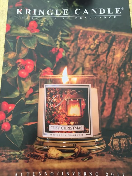 Nuove fragranze Kringle Candle