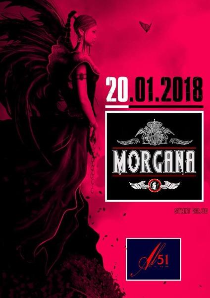 Sabato 20 gennaio MORGANA live