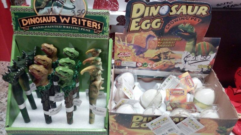 Per gli amanti dei dinosauri