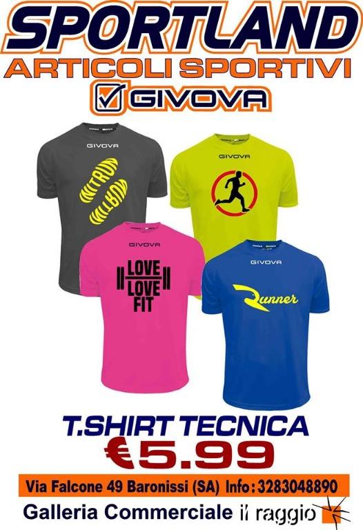 T-Shirt tecnica 5,99 €