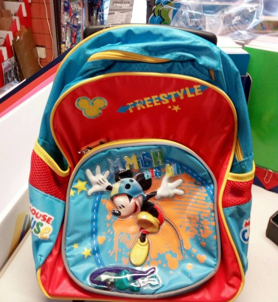 Trolley Asilo Mickey Mouse