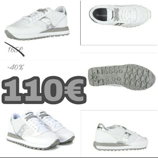 Saucony Total White 110€ invece di 165€