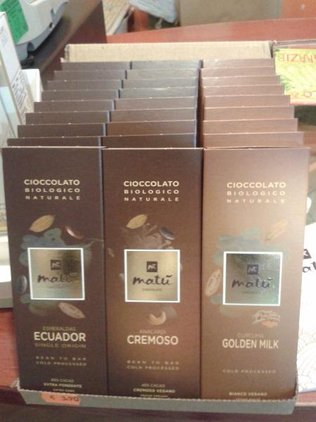 Cioccolato Biologico Matù Chocolate