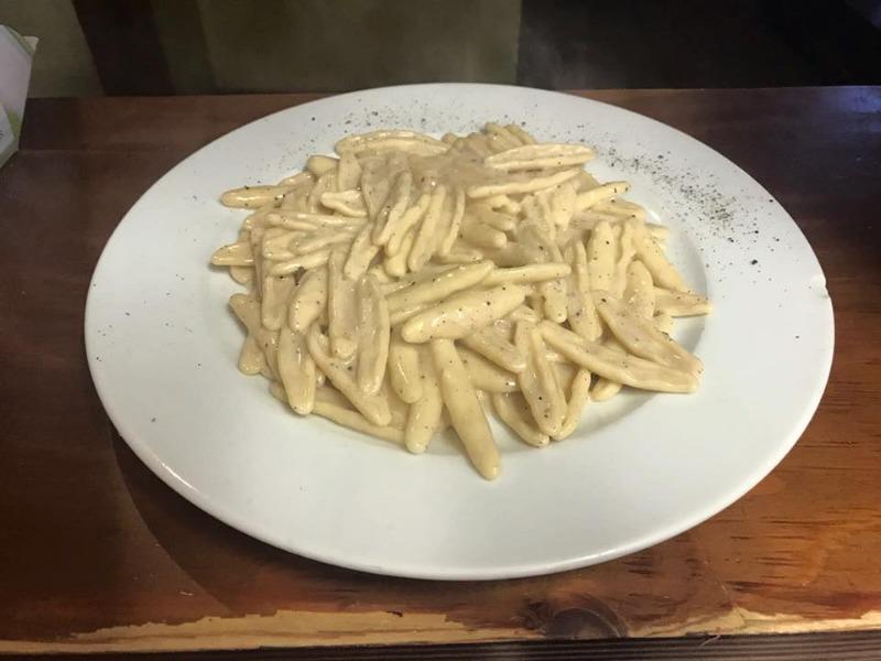 Cortecce cacio e pepe