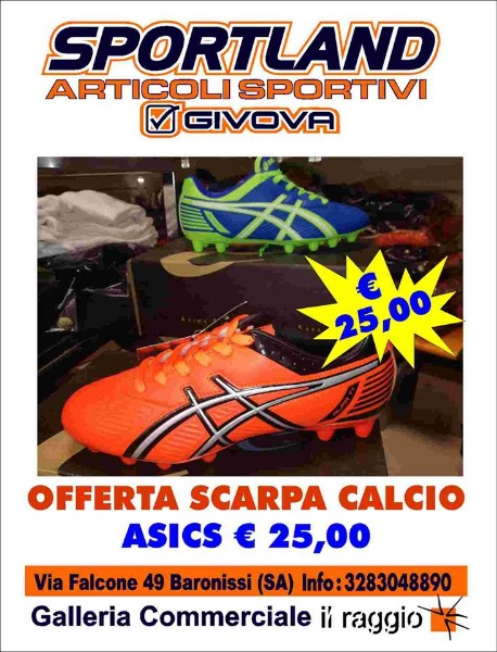 Offerta Scarpa da Calcio Asics 25 €