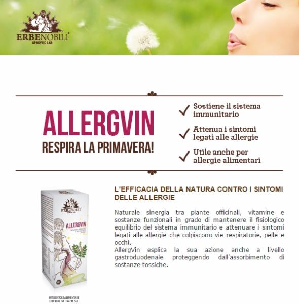 Allergin Combatti le allergie