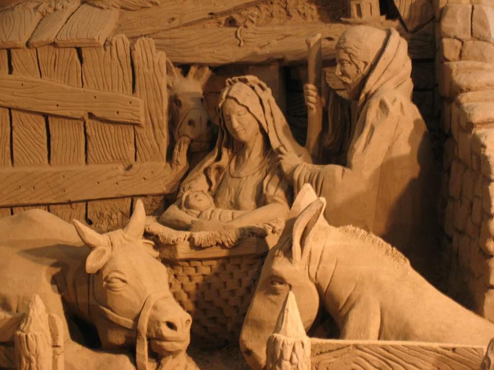 Salerno: torna il Presepe di sabbia