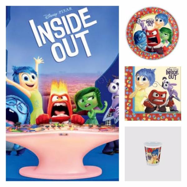 Per la tua festa gli articoli Inside Out li trovi da Candy Candy