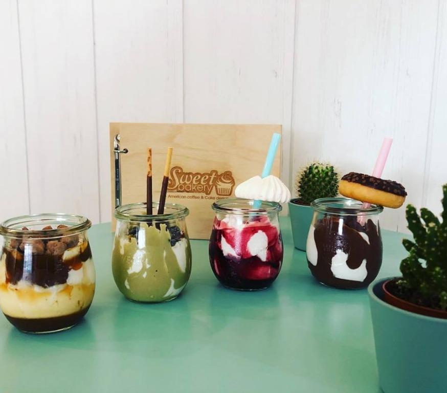 Le nostre creme fredde fiordilatte: frutti di bosco e meringhe, donuts, pistacchio e fondente, cookies e caramel