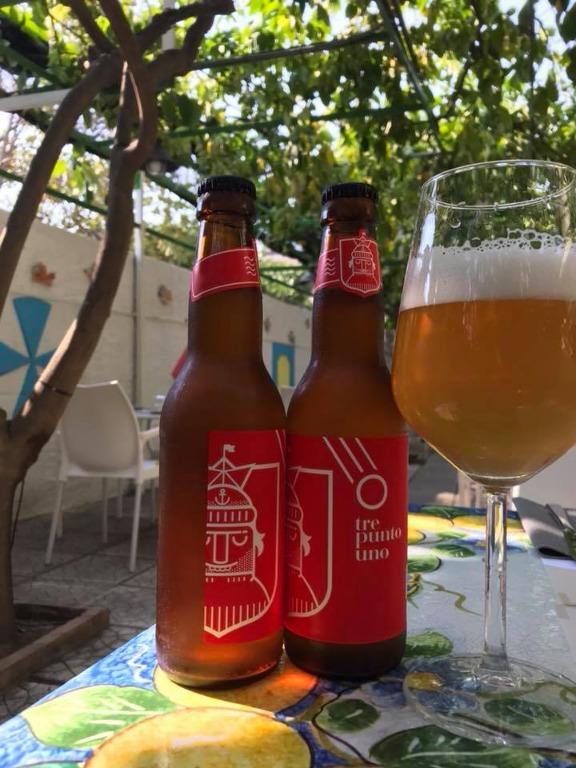 Birra Artigianale del Birrificio 3.1 di Paestum