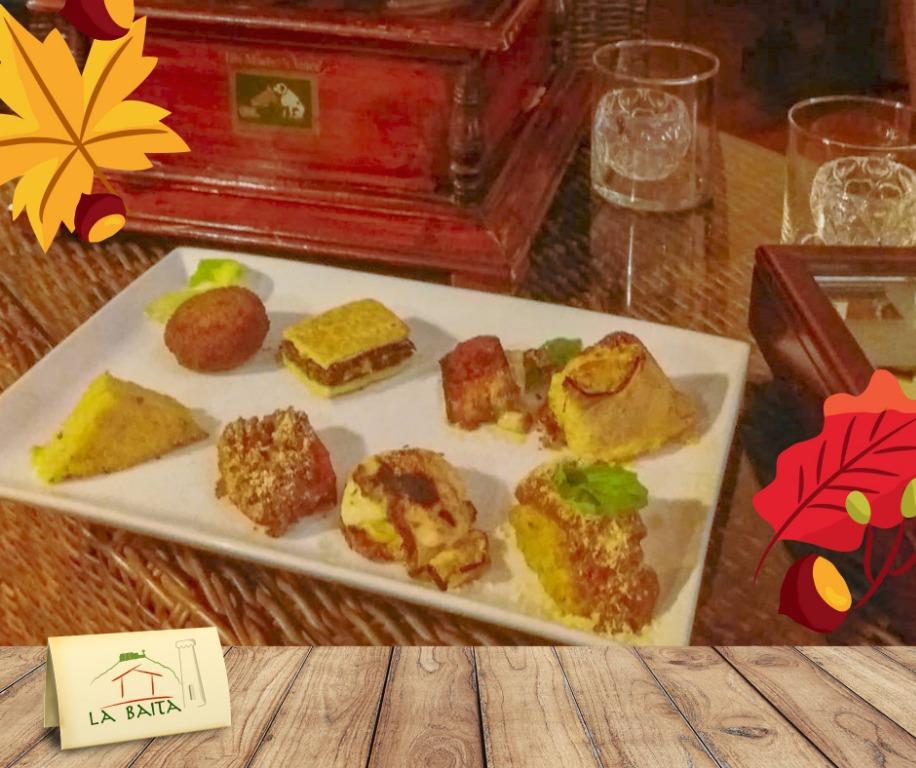 Assaggi saporiti e in un posto fuori dal tempo: un antipasto gustoso e suggestivo
