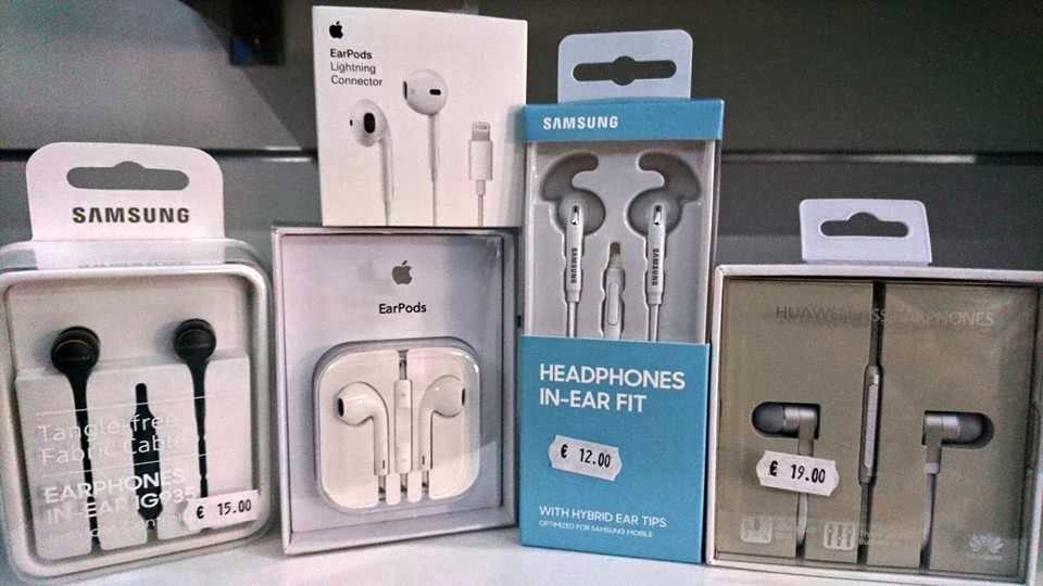 Auricolari originali Apple, Samsung e Huawei NUOVI € 12