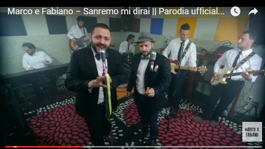 'Sanremo mi dirai': la parodia di Marco e Fabiano realizzata in meno di 24ore