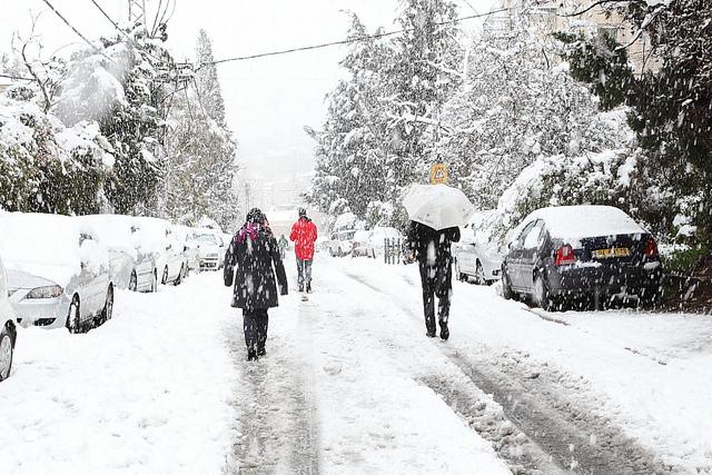 Disagi nel salernitano a causa della neve