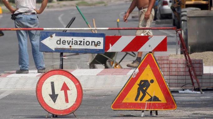 Cava de' Tirreni: avviati i lavori sulla SP 360 nella frazione Sant'Anna