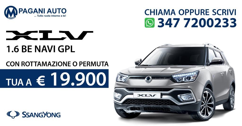 SsangYong Xlv 1.6 Benz/Gpl 128 cv Versione Be Navi Full Optional