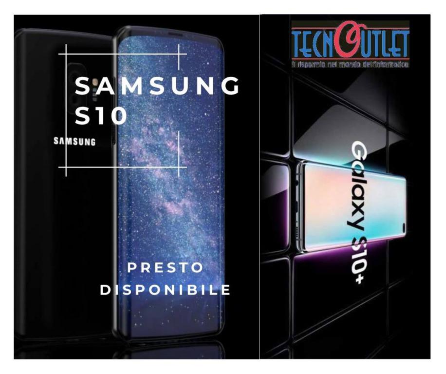 I nuovi modelli Samsung Galaxy S10 saranno presto disponibili in negozio