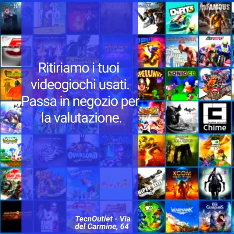 Riportaci i giochi PS4, Xbox One e Nintendo Switch che non usi