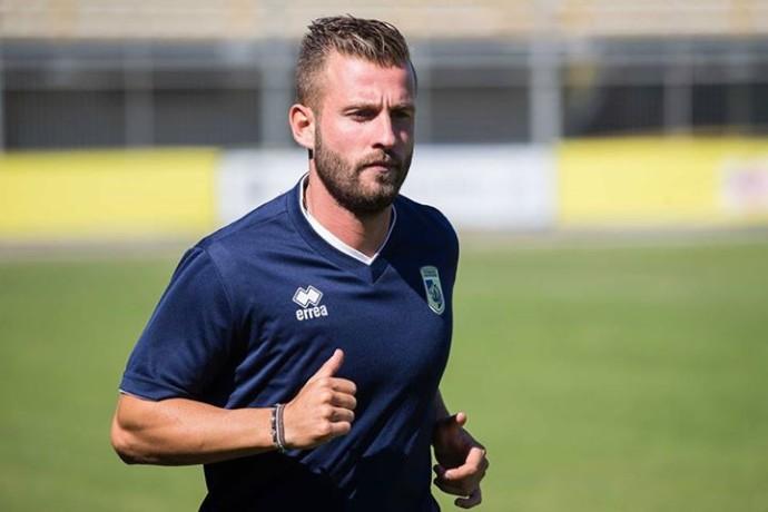 Cavese: acquistato l'attaccante Fabio Oggiano