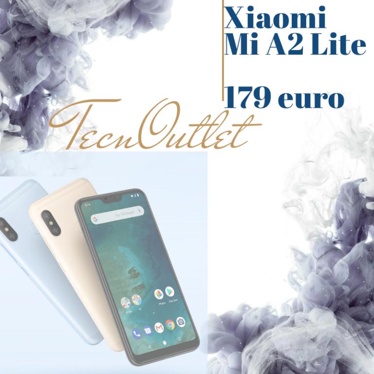 Xiaomi Mi A2 lite 179 €