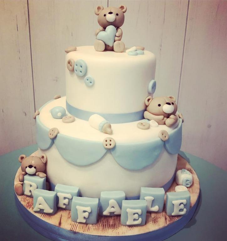 Baptesim cake