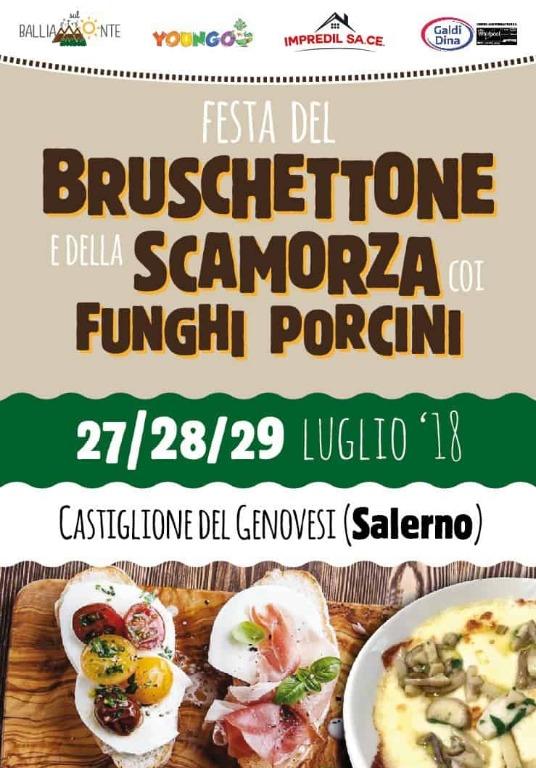 Dal 27 al 29 luglio a Castiglione dei Genovesi la Festa del Bruschettone