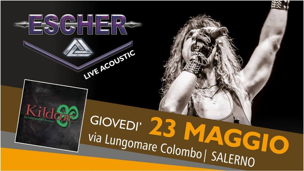 23 maggio ESCHER LIVE
