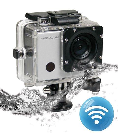 Mediacom SportCam Xpro 220 HD Wi-Fi Subaquea 45mt LCD 2.0