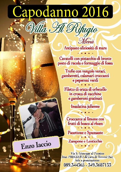 Capodanno 2016 Villa al Rifugio