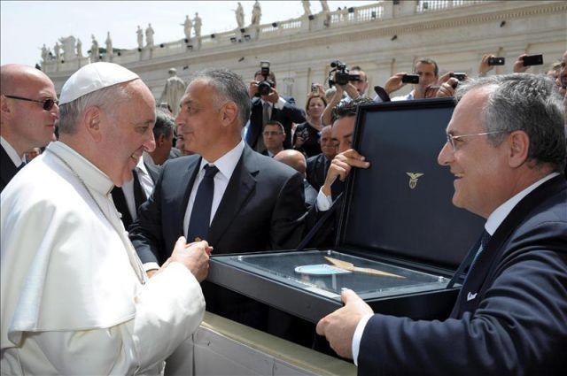 Salernitana: Lotito vorrebbe un incontro con il Papa
