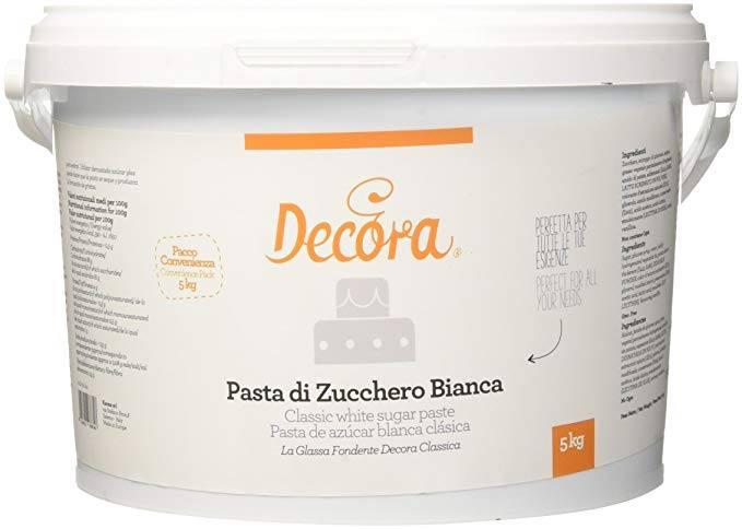 SUPER OFFERTA  PASTA DI ZUCCHERO DECORA SECCHIO DA 5KG  20,00 €