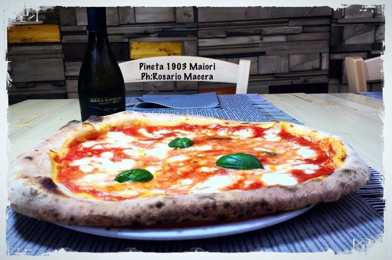 Il nuovo Pizzaiolo del Pineta 1903  Maiori Costa d'Amalfi
