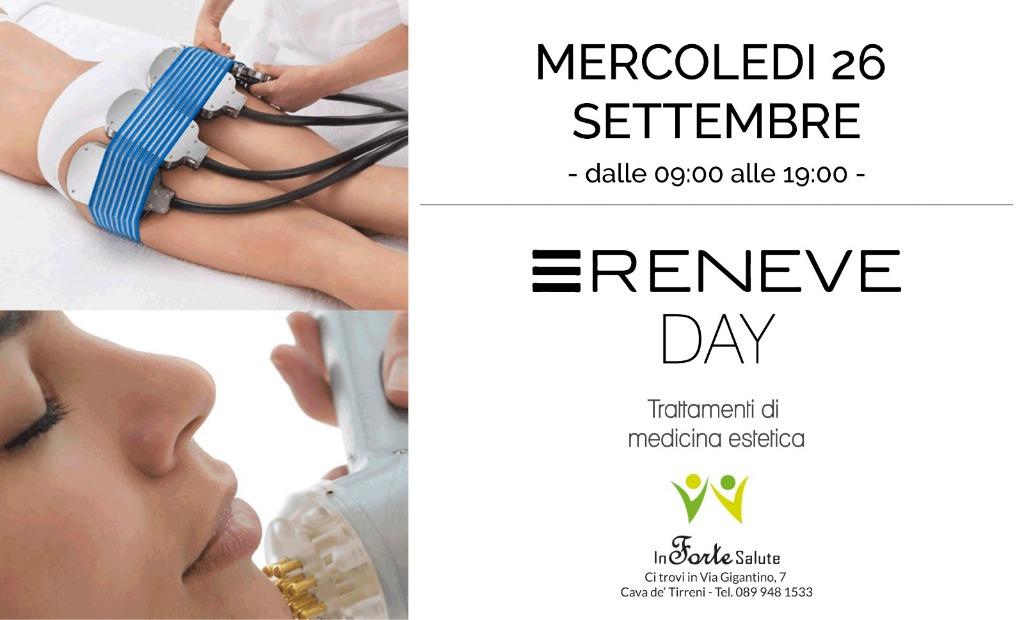 Mercole 26 Settembre - Reneve Day