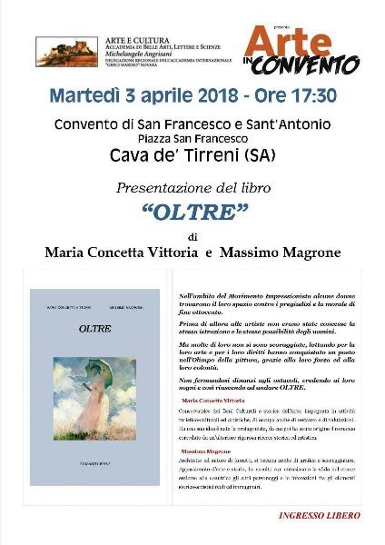 Martedì 3 aprile 2018 - Presentazione del Libro 'Oltre'