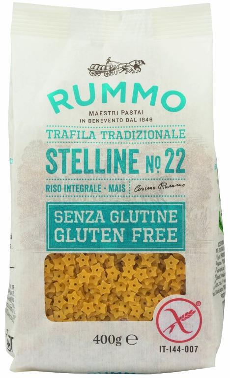 Pasta Rummo senza glutine STELLINE