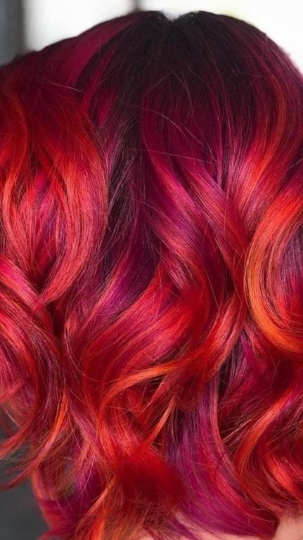 Alternative purple reds