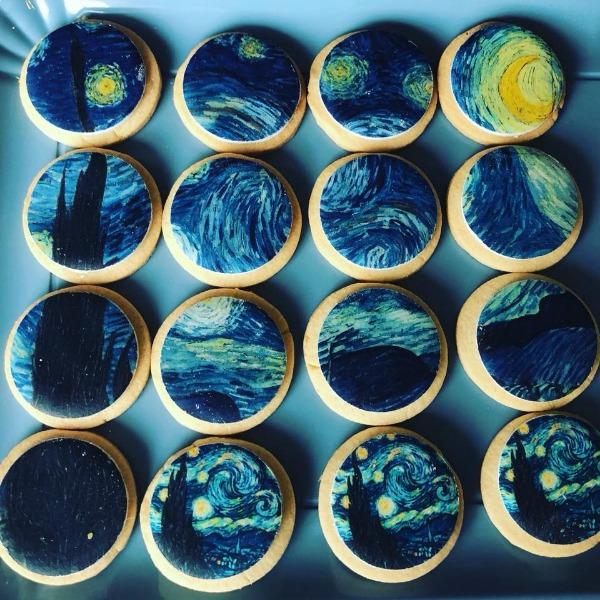 Art cookies