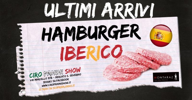 Ultimi Arrivi - Hamburger Iberico