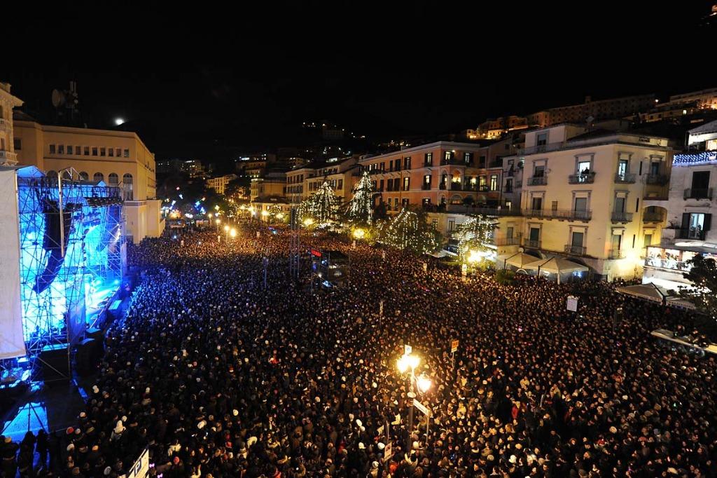 Capodanno in piazza a Salerno. Ecco gli ospiti