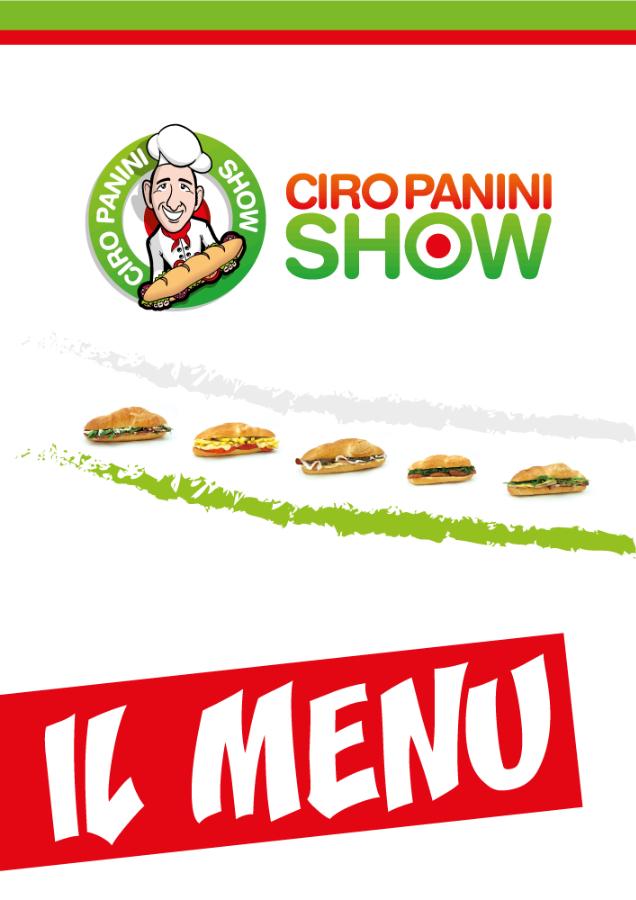 Menu Ciro Panini Show