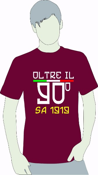 Nuova T-shirt Oltre il 90esimo