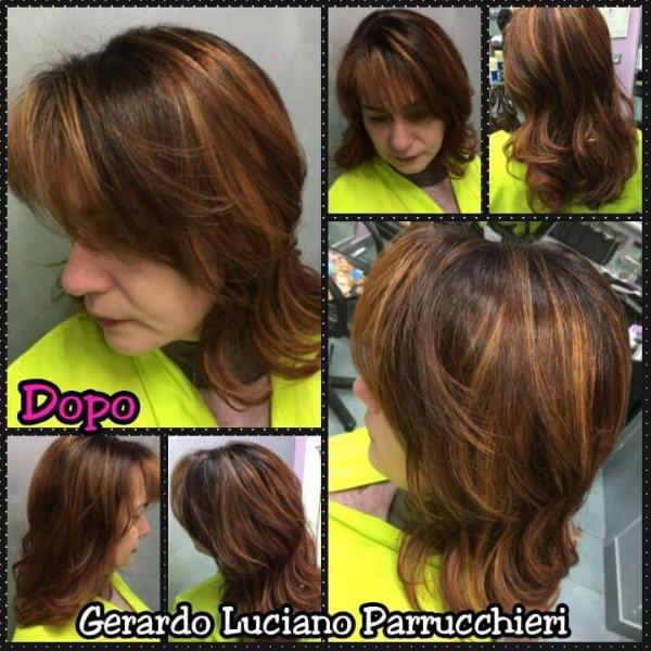 Prima e dopo con Gerardo Luciano Parrucchiere
