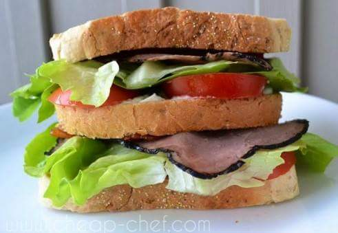 Sandwich irlandese